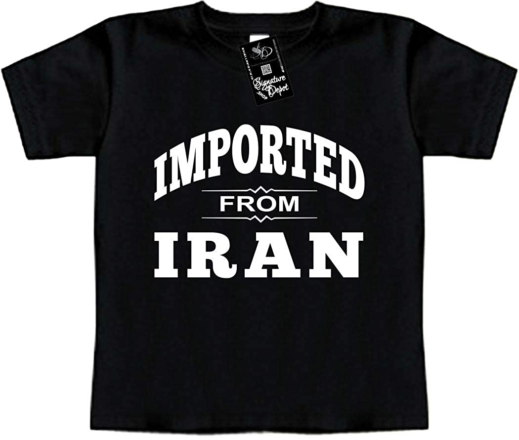 Signature Depot Funny Baby T-Shirt Toddler Tee Imported from Iran Middle East