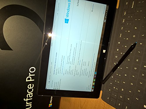 Microsoft Surface Pro 128GB SSD with Black Type Cover Digiti