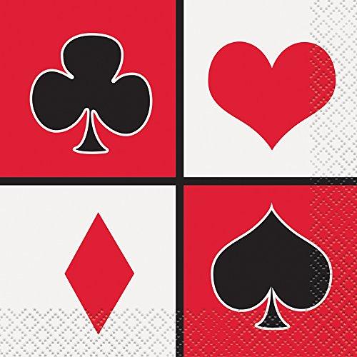Bulk Card Night Party Supplies for Las Vegas Style Fun