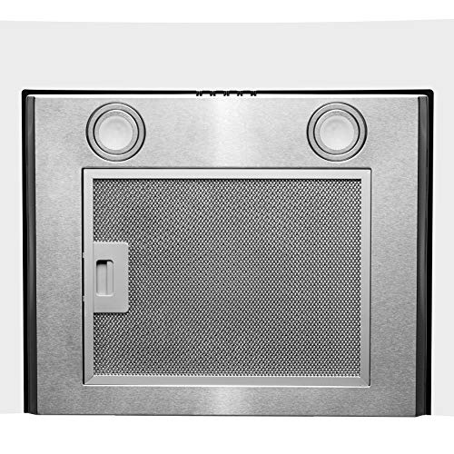 Firebird 30 Quot Wall Mount Stainless Steel Tempered Glass