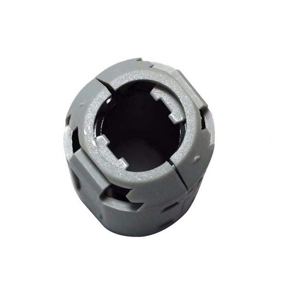 Maslin Inner 13mm 0.51''Clip EMI Filter ferrite core RF Choke ferrite Ring Cable Wires Noise Cancel ferrite Bead,200pcs/lot