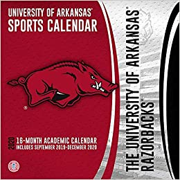 university of arkansas 2020 calendar