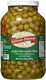 Supremo Italiano Stuffed Manzanilla Olives, 80 Ounce