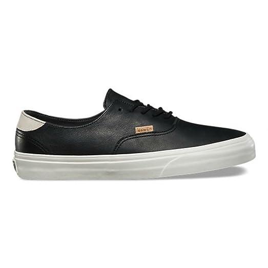 Vans Era 59 Decon DX Mens Size 10.5 Leather Pig Suede Black Marshmallow  Fashion Skateboarding Shoes