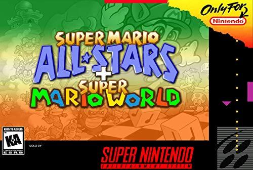 Super Mario All-Stars / Super Mario World (Renewed) (Mario All Stars And Super Mario World)
