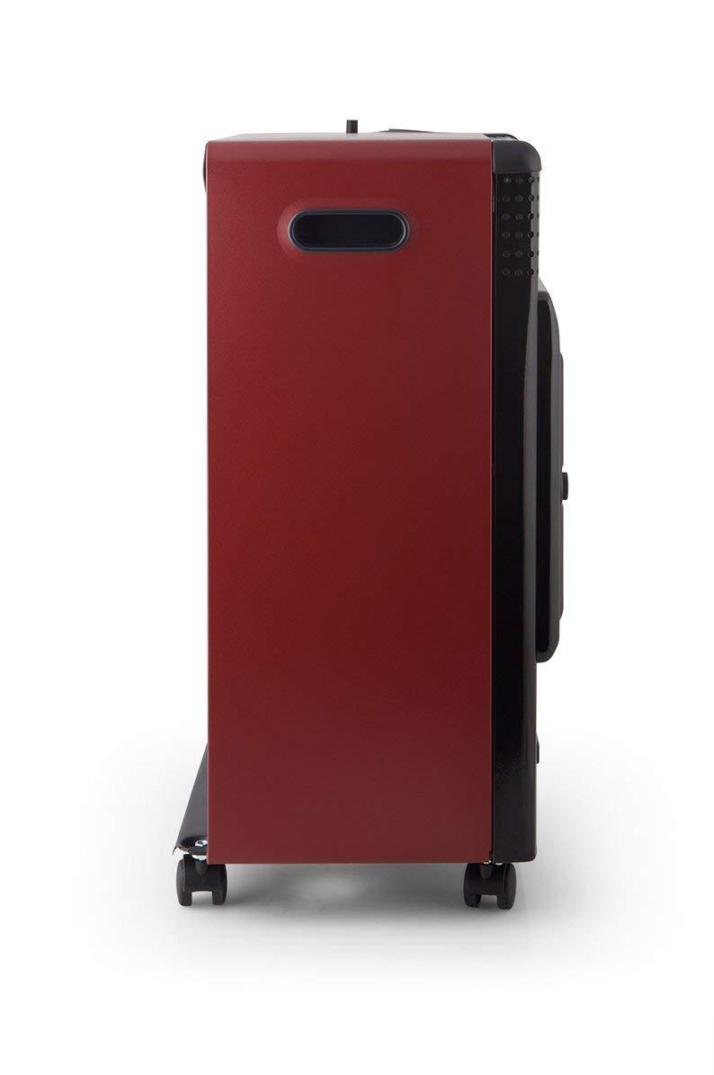 ElectrodomesticosN1 Pack Estufa Orbegozo de Butano HBF 95 Catalitica,3500 W,Negro, Burdeos + Regulador de Gas butano HVG, Tubo Manguera 1,5 Metros, ...