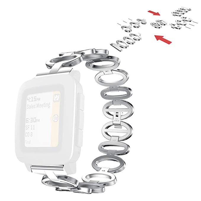 OPALLEY Relojes de Moda para Hombre y para Mujer Pebble Time ...