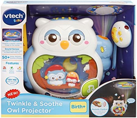 VTech Twinkle /& Soothe Owl Projector