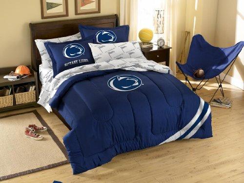 NCAA Penn State Nittany Lions Bedding Set, Full