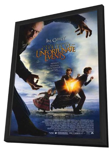 Lemony Snicket's A Series of Unfortunate Events Framed Movie Poster