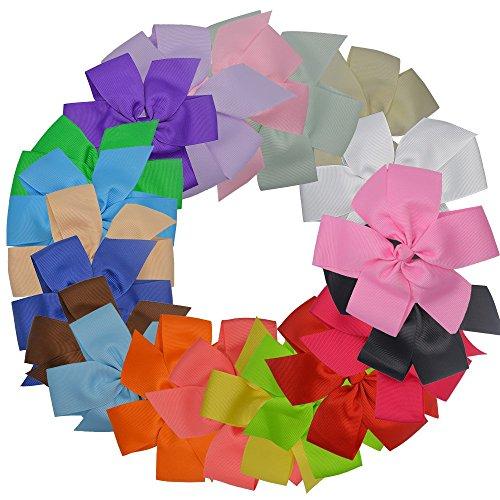 qicaiyunnan-boutique-55-grosgrain-ribbon-pinwheel-hair-bow-clips-for-womens-girlsty02720pcs