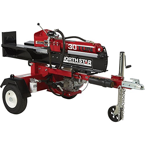 NorthStar Horizontal Vertical Log Splitter – 30-Ton, 200cc Honda GX200 Engine
