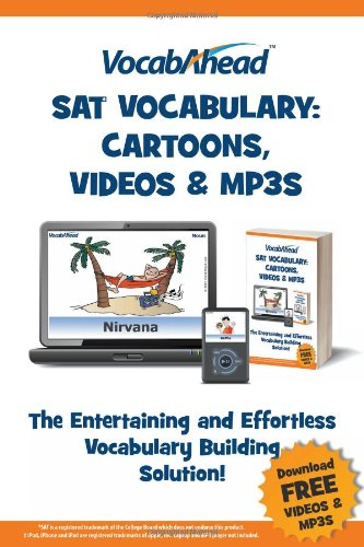 Vocabahead SAT Vocabulary: Cartoons, Videos & (Sat Vocabulary Cartoons)