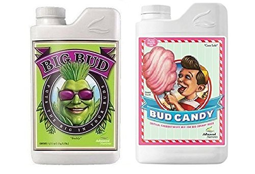 Advanced Nutrients Big Bud and Bud Candy Bundle Set Fertilizers...