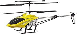 3.5 Channel RTF RC Remote Control Helicopter Big Size with LED's, GYRO - Yellow