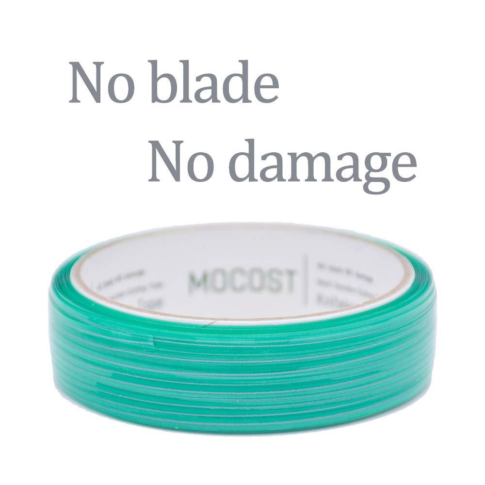 MOCOST Films Cutting Tape Knifeless Cutting Tape Finish Line Design Line Vinyl Wrap Cutting Vinyl Wrap Edge Cutting Detailer Tape 50M // 164 ft Roll