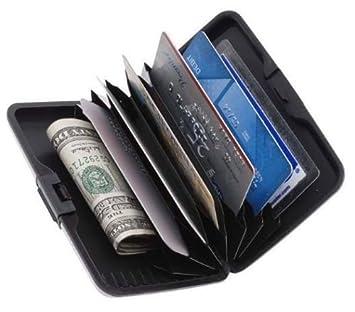 Regi slim unisex security credit debit card wallet cash visiting regi slim unisex security credit debit card wallet cash visiting card holder reheart Choice Image