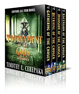 Tournament of the Gods Omnibus by [Cerepaka, Timothy L.]