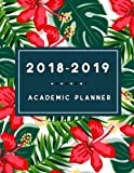#7: 2018-2019 Academic Planner: Calendar Schedule Organizer and Journal Notebook, Hourly Daily Weekly Monthly Year, Portable Format (Jun 2018 - Dec 2019)