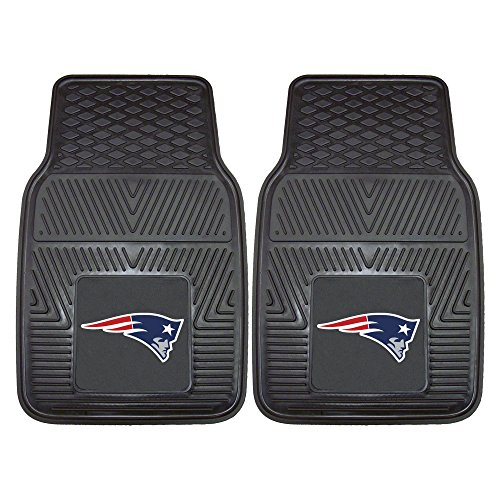 FANMATS NFL New England Patriots Vinyl Heavy Duty Car - Mat New Patriots Floor England