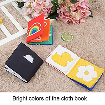 Cloth Book, 3pcs Visual Development Washable Baby Bath Books Early Education Toys Infants Perfect Shower Toys : Baby