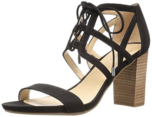 outlet buy Franco Sarto Women's Jewel Heeled Sandal Black release dates new online cheap how much w9OVJ