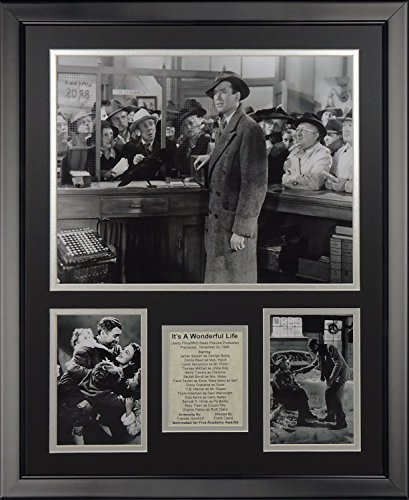 Legends Never Die It's a Wonderful Life Framed Photo Collage, 16