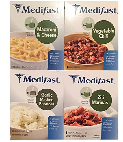 Medifast Hearty Choices Variety Pack  1 Pack 4 Meals