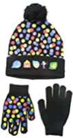 Disney  Inside Out Character Knit Beanie and Glove Set