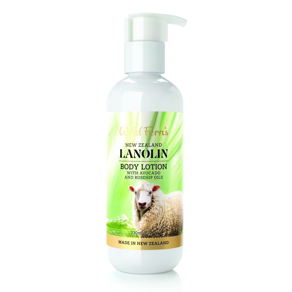 Wild Ferns New Zealand Lanolin Body Lotion