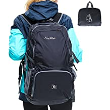 OlarHike Hiking Backpack For Men Women, Durable Water Resistant 35L Backpack For Outdoor Camping Backpacking, Lightweight Foldable Packable Travel Backpack for International Travel