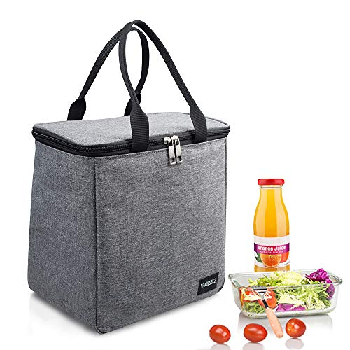 VAGREEZ Lunch Bag, Large Lunch Tote Bag Waterproof Insulated Lunch Bags for Men &Women (Top Rated Lunch Totes)