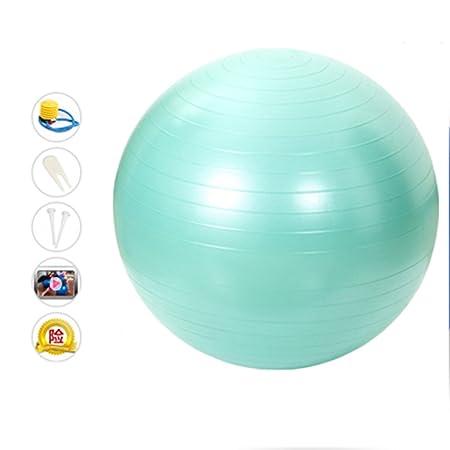 QCRLB Bola de la Yoga, Bola de la Gimnasia a Prueba de ...