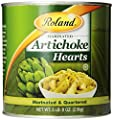Roland Marinated Quarters Artichoke Hearts, 5-Pounds Can