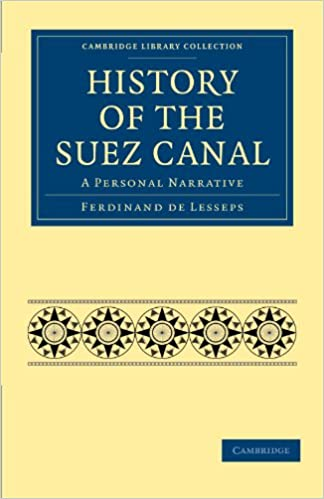 Read History of the Suez Canal: A Personal Narrative pdf ebook