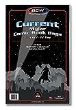 3 X BCW Current Comic Mylar 4 Mil 7 1/4 X 10 1/2 25 Pack