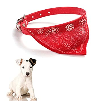 New Pet Dog Cat Puppies Adjustable Collars Scarf Neckerchief Necklace Collar Pet Scarf Teddy Poodle Scarf