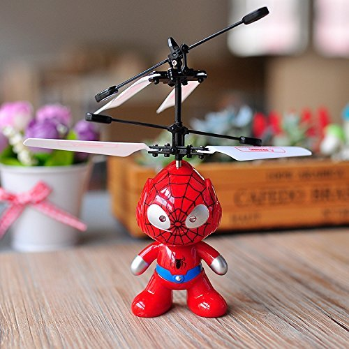 Controlled Flying Toy - Floating, Flying Amazing Hand Induction Controlled Toy (Spiderman)