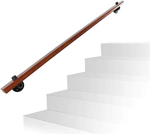 Llq Hands 3 pies de Pino Natural pasamanos de la Escalera, de Alta tecnología Proceso de Piano, Pintura, Adecuado for Villa Loft Bar: Amazon.es: Hogar