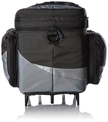 Pletscher Uni 2179841800 Gepäckträgertasche, Schwarz, 35 x 27 x 21 cm
