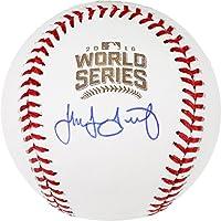 Jake Arrieta Chicago Cubs 2016 MLB World Series Champions Autographed World Series Logo Baseball - Fanatics Authentic Certified