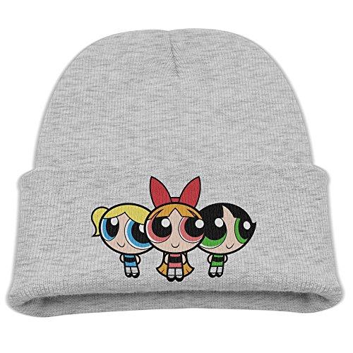 Skull Beanie Caps Powerpuff Girls Trendy Soft (Powerpuff Girl Costume For Guys)