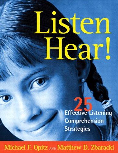Listen Hear! 25 Effective Listening Comprehension Strategies