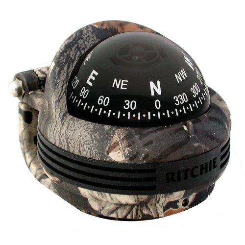 Ritchie Navigation TR-31B Trek Bracket Mount Compass (Break-Up Camo)