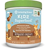 Amazing Grass Kidz Superfood Powder, Chocolate, 6.35-Ounce Container offers