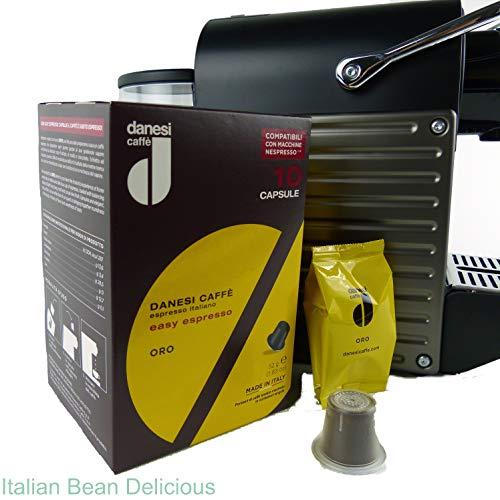 Danesi Gold for Nespresso Machines espresso coffee capsules (60 Capsules)