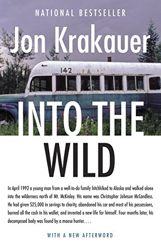 In April 1992 a young man from a well-to-do family hitchhiked to Alaska and walked alone into the wilderness north of Mt. McKinley. His name was Christopher Johnson McCandless. He had given $25,000 in savings to charity, abandoned his car and most of...
