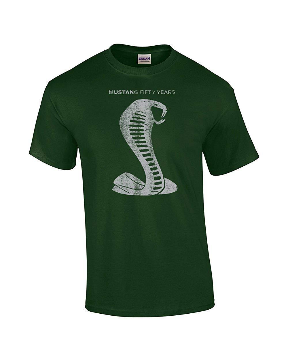 T Shirt Mustang 50 Years Cobra Fashion T Shirts 7651