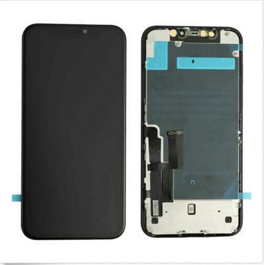 Replacement for LCD Display Touch Screen Digitizer Assembly (Black, Apple iPhone 11 OLED)
