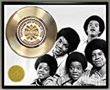 #8: Jackson 5 Limited Edition Gold Record Poster Art Music Memorabilia Display Plaque